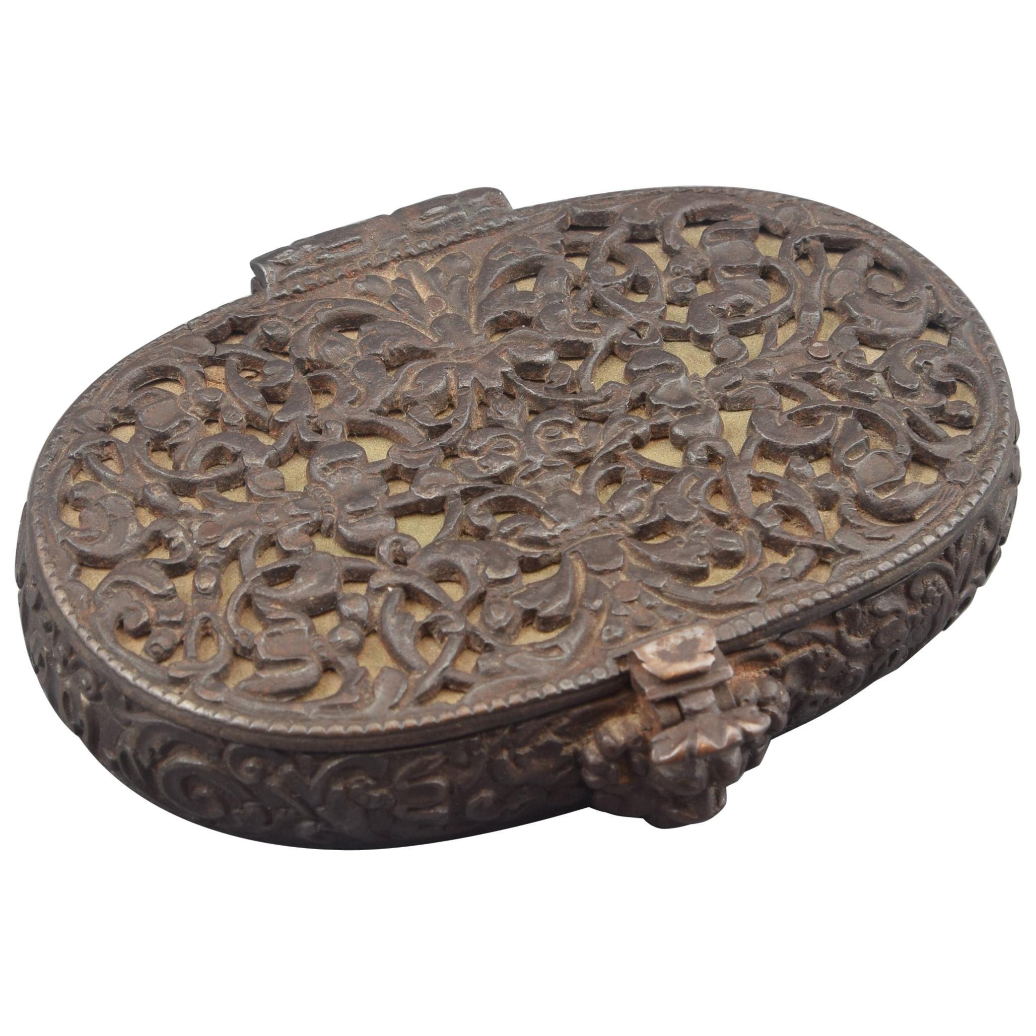Wrought Iron Box, Germany, 17th Century