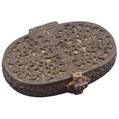 Schmiedeeisenbox, Deutschland, 17. Jahrhundert