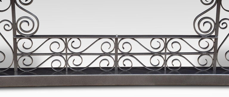 Wrought Iron Club Fender For Sale 1