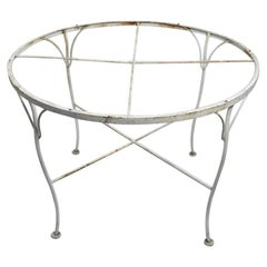 Wrought Iron Dining Table Attributed to Salterini