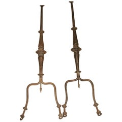 Wrought Iron Fasterners, 17th Century