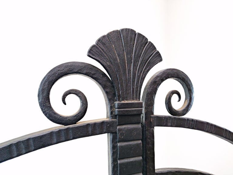 20th Century Wrought Iron Gate, French For Sale