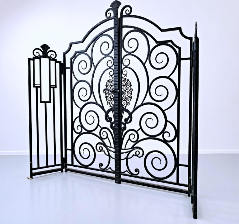 Wrought Iron Gate, French For Sale 2