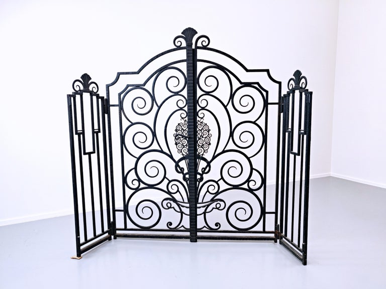 Wrought Iron Gate, French For Sale 3
