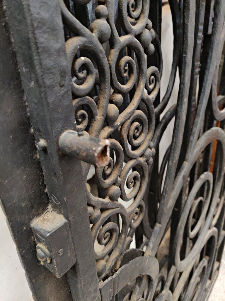 Wrought Iron Gate, French For Sale 4