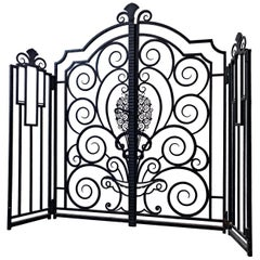Wrought Iron Gate, French