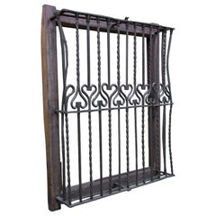 Wrought Iron Grille, 16th Century