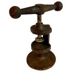 Wrought Iron Nut Cracker