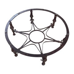 Wrought Iron Table Support, 20th Century
