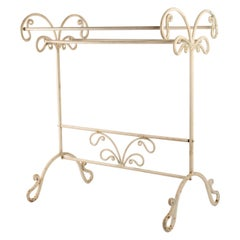 Wrought Iron Towel Bar from the Beginning of the 20th Century Style, 1900-1920