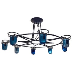Wrought Iron Venetian Light Fixture