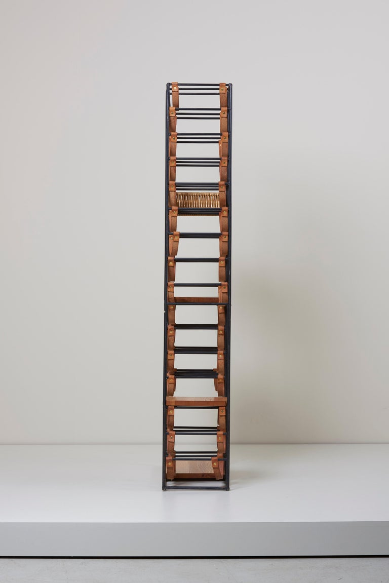 Wrought Iron Wine Rack By Arthur Umanoff For Raymor Us 1950s For