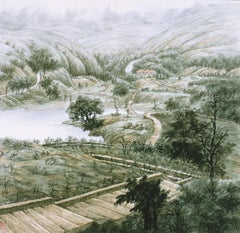 Contemporary Chinese Ink - Ancient Mountain Road, 1995