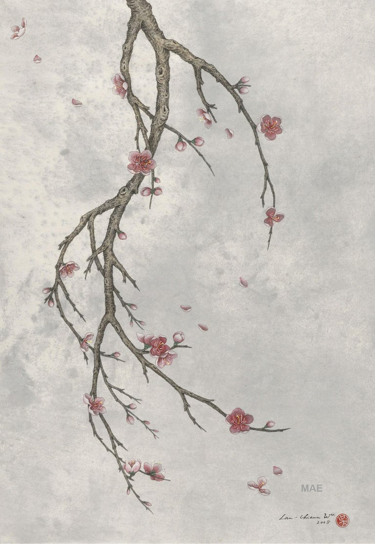 Wu Lan-Chiann Figurative Painting - Ink, Pigment on paper  (2008)