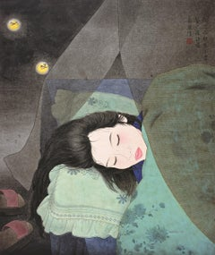 Ink, Pigment on paper - Firefly Dream (2000)