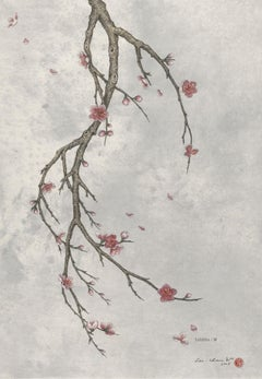 Ink, Pigment on paper - Winter Breeze (2008)