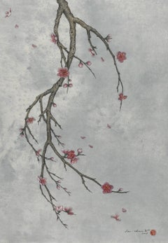 Ink, Pigment on paper - Winter Breeze (2008)