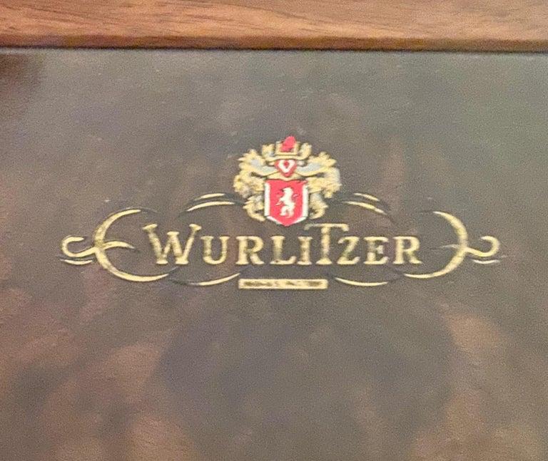 Wurlitzer Butterfly Baby Grand Piano Art Deco Streamline For Sale 8
