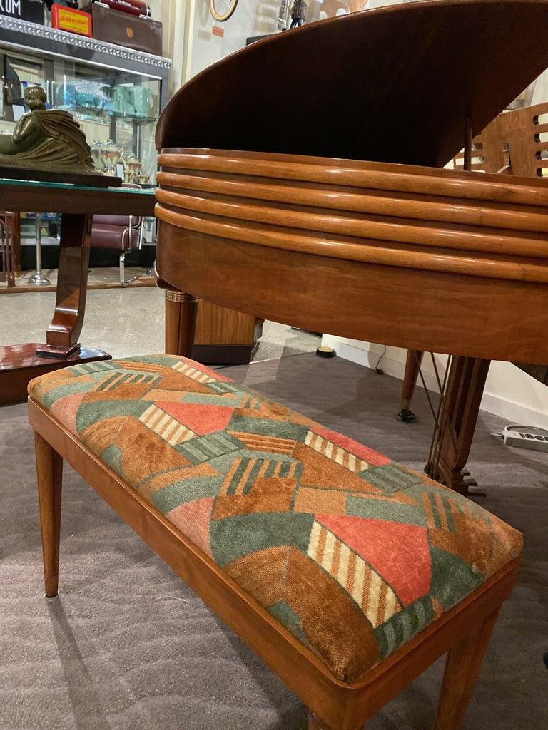 Wurlitzer Butterfly Baby Grand Piano Art Deco Streamline For Sale 5