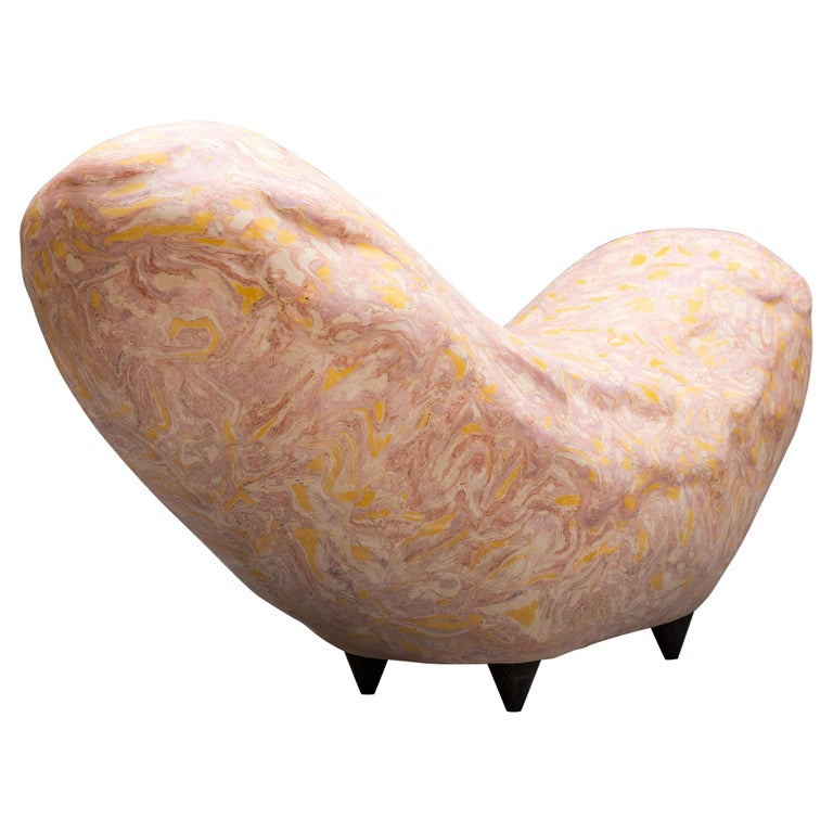 """""""Wurst"""" Contemporary Bench by Studio Morison for General Life For Sale"""