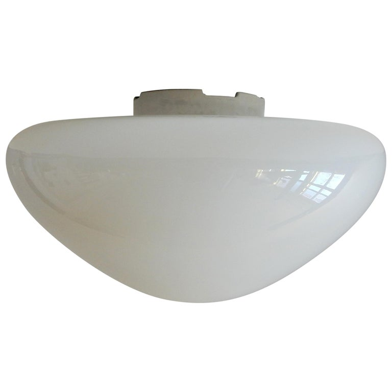 WV 339 Flushmount by Wagenfeld for Lindner, Germany, 1950s-1960s For Sale