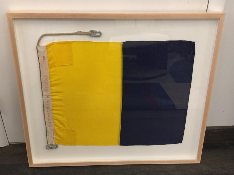 Mid-20th Century WW II Nautical Signal Flag For Sale
