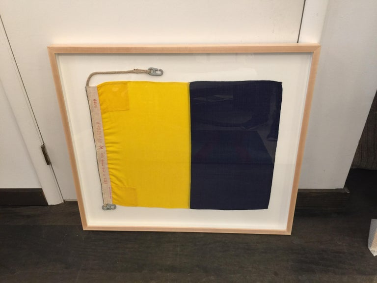 Maple WW II Nautical Signal Flag For Sale