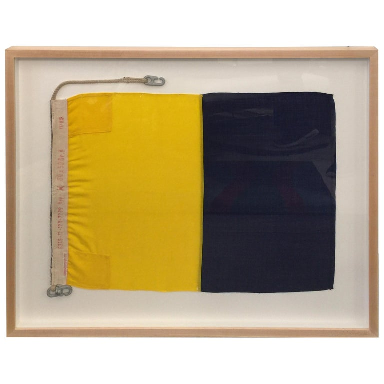 WW II Nautical Signal Flag For Sale