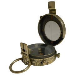 WWI 1918 British Army Officer's Compass by J H Steward, London