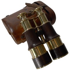 WW1 Binoculars and Case, British Officer's Issue