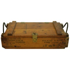 WW11 Wooden Mortar Cartidge Box, circa 1940s