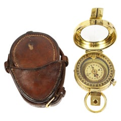 WWI Brass Compass Used by the British Army Officers