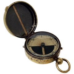 WWI Military Officer's Marching Compass, Cbynite Radium Compass