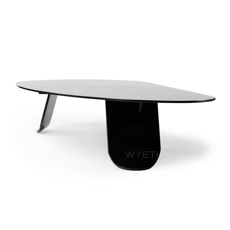 WYETH Chrysalis Table No. 1 in Blackened Steel In New Condition For Sale In Sagaponack, NY