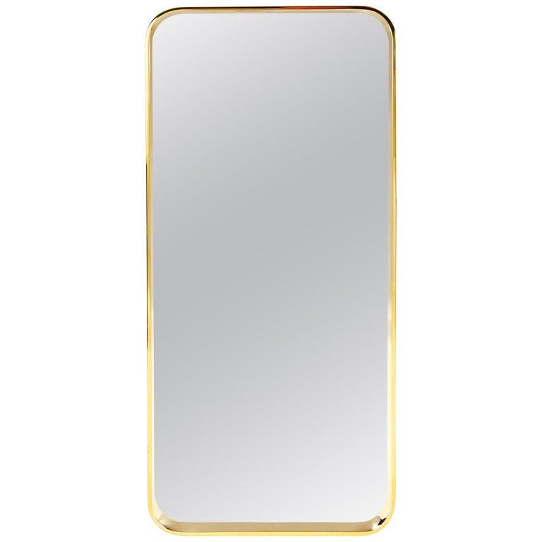 Wyeth Original Bronze Wall Mirror For Sale