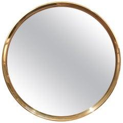 WYETH Original Round Bronze Mirror