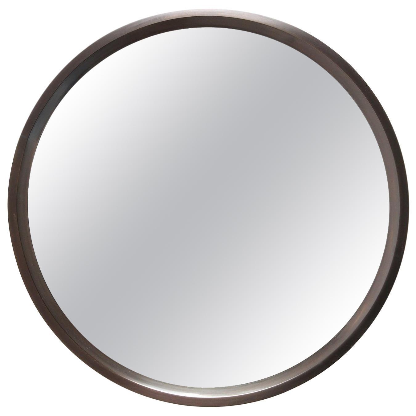 Wyeth Original Round Bronze Wall Mirror