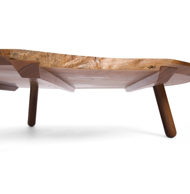 WYETH Original Sliding Dovetail Low Table In Excellent Condition In Sagaponack, NY