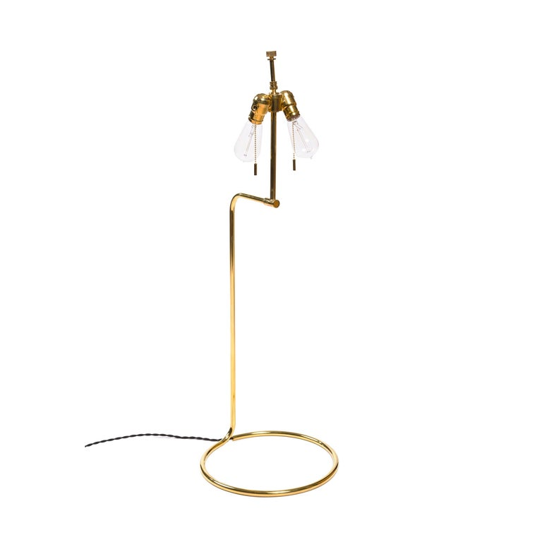 Wyeth Original Tall Bronze 'Rope' Table Lamp In New Condition For Sale In New York, NY