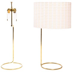 Wyeth Original Tall Bronze 'Rope' Table Lamp