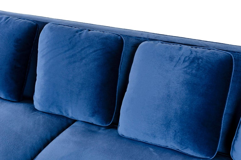 Wyeth Original Thin Frame Tuxedo Sofa For Sale 1