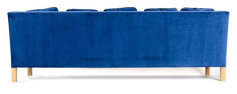 Wyeth Original Thin Frame Tuxedo Sofa For Sale 2