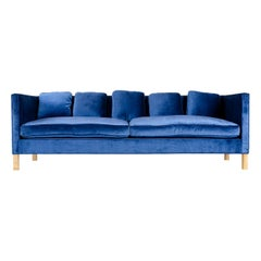 WYETH Original Thin Frame Tuxedo Sofa