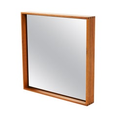 WYETH Original Thin Line Walnut Wall Mirror