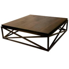 """X"" Base Coffee Table"