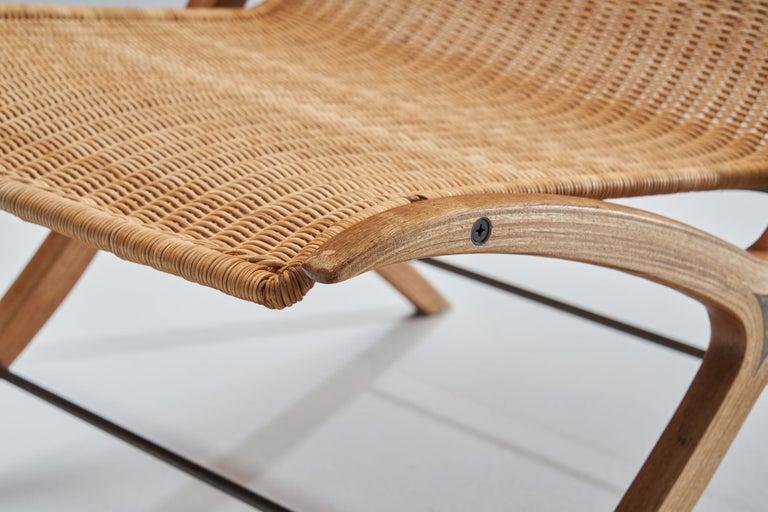 """""""X-Chair"""" by Peter Hvidt & Orla Mølgaard-Nielsen for Fritz Hansen, Denmark, 1959 For Sale 6"""