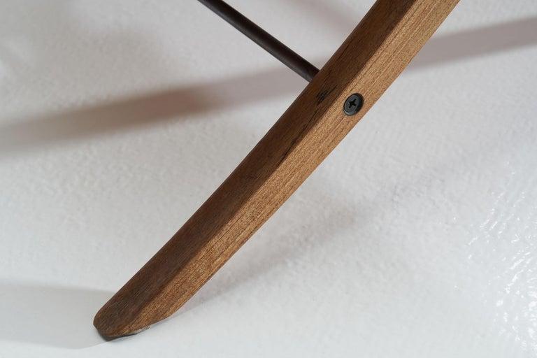 """""""X-Chair"""" by Peter Hvidt & Orla Mølgaard-Nielsen for Fritz Hansen, Denmark, 1959 For Sale 11"""