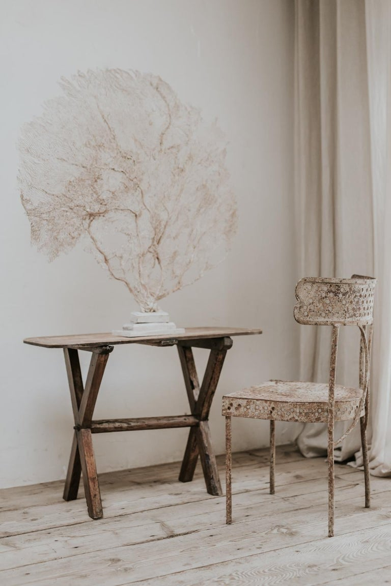 X-Legged Pine Table For Sale 1
