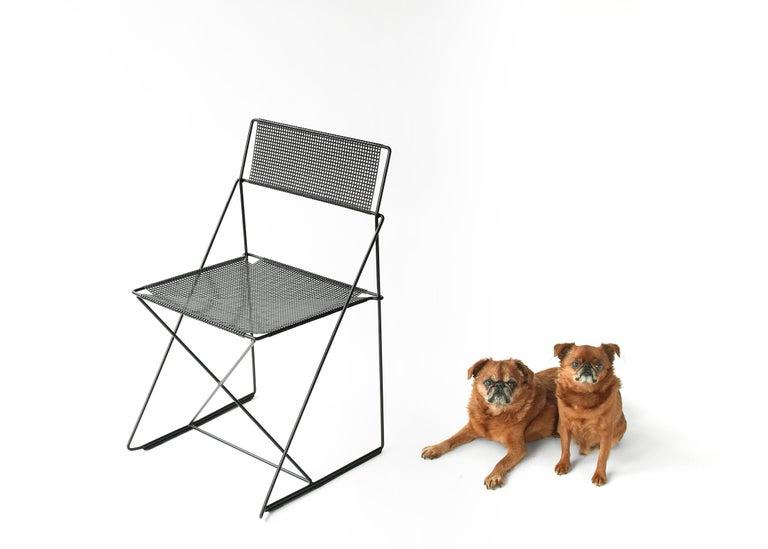 X Line Stacking Chair by Niels Jorgen Haugesen For Sale 5
