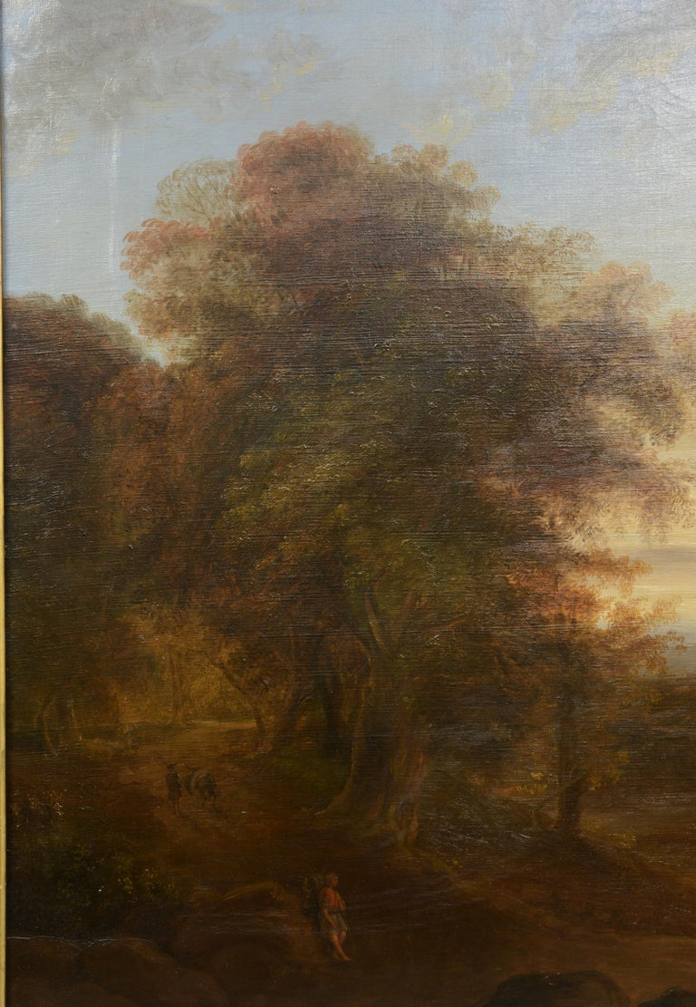 Provenance: Conde de la Cortina collection, Jalapa, Mexico. One of the most radical aspects of Romantic painting was the attempt to replace the large canvases of historical or religious theme with the landscape. They pretended that the pure